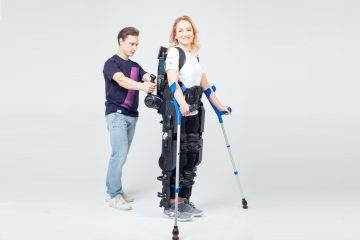 ExoAtlet Wearable Walking Robot